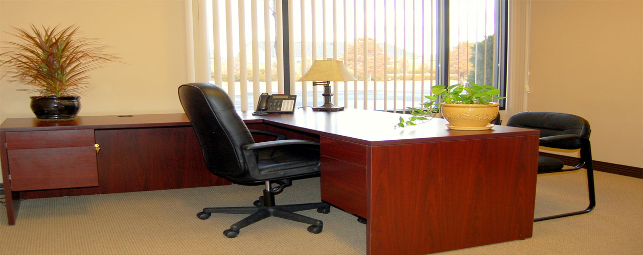 Interior shot of physical office space